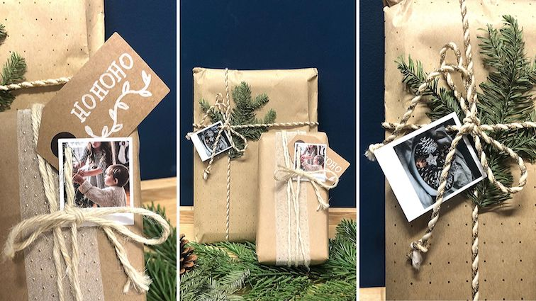 Geschenkverpackung-geschenke-verpacken-ideen-basteln-gestalten-diy-fotos-polaroid