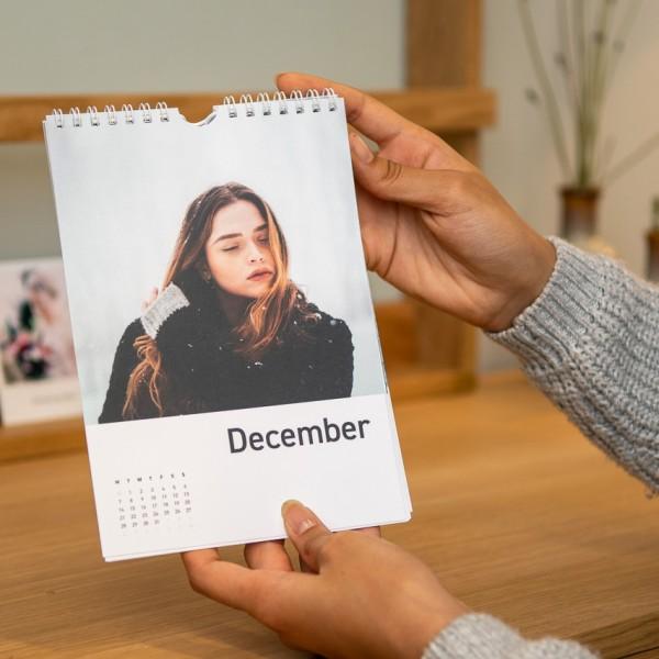 Wandkalender - DIN A5, Leinenpapier