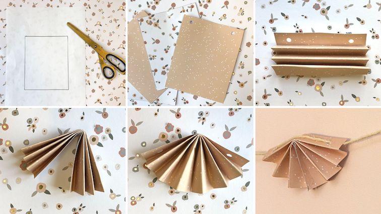 DIY-Girlanden-basteln-Papiergirlande-gefaltet