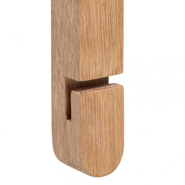 Wandhaken - Holz (Eiche)