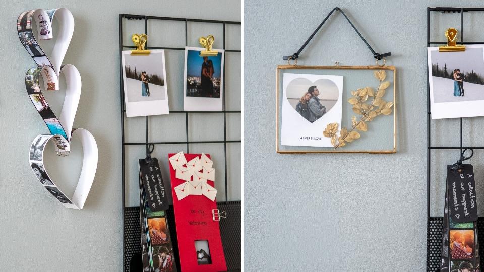 Valentinstag-DIY-Geschenke-Ideen-Fotostreifen-Bilderrahmen