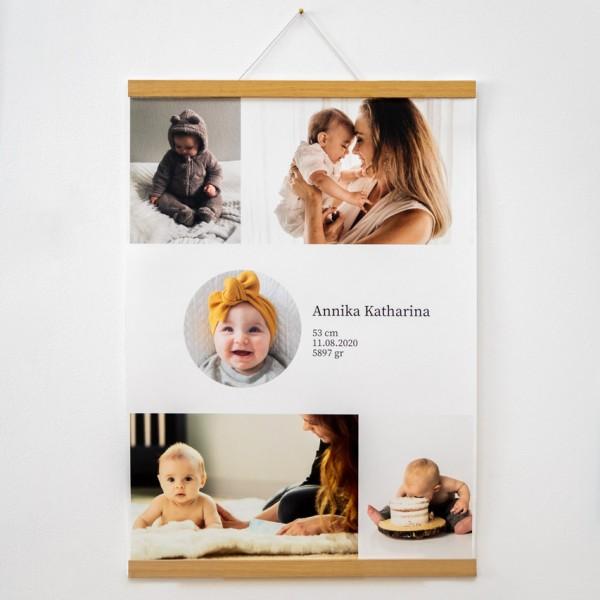 Baby Poster - DIN A2, Naturpapier
