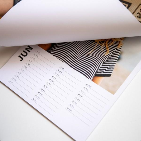 Wandkalender Termin - DIN A3, Leinenpapier