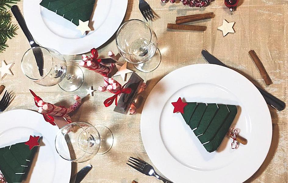 Diy Ideas Table Decoration For Christmas Hejpix
