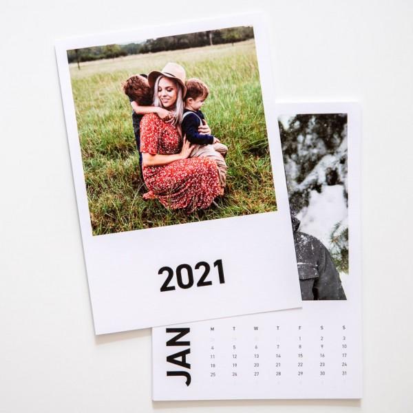 Kalenderblätter - DIN A5, Leinenpapier