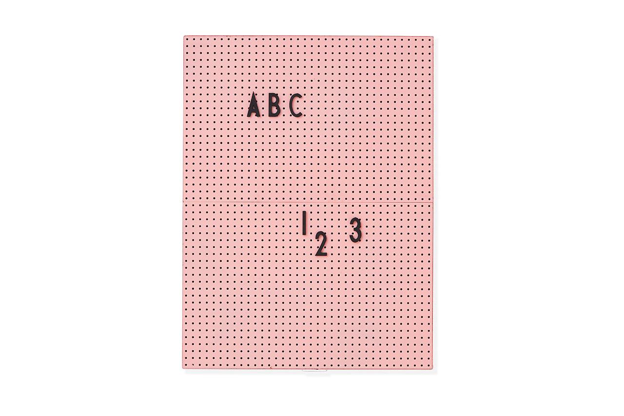 Message Board Design Letters A4