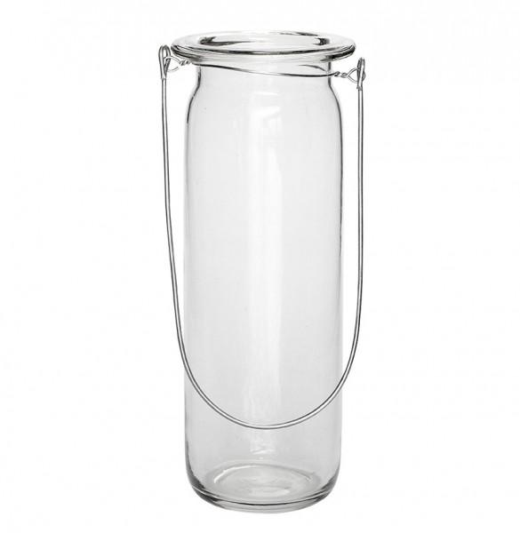 Hängeglas - 25 cm, mit Henkel