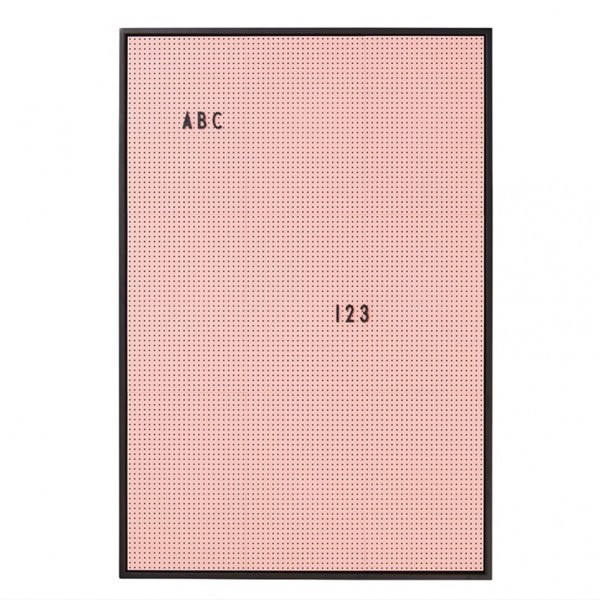 Message Board Design Letters - DIN A2, schwarz oder rosa