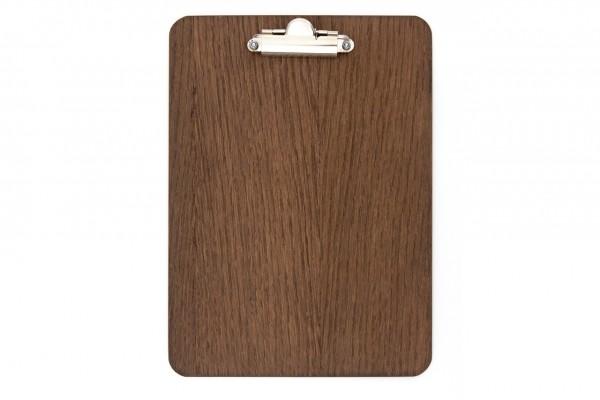 Clipboard - für Format DIN A5, Dark Oak / Light Beech