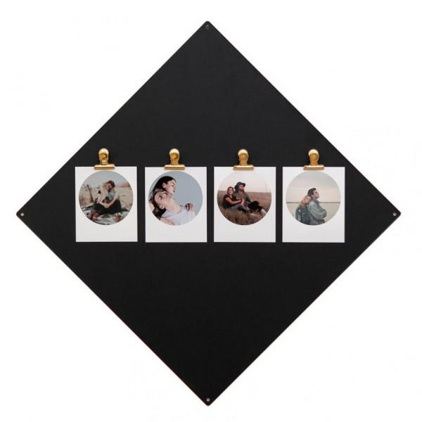 Magnettafel - Quadrat, inkl. 10 Mini-Magnete