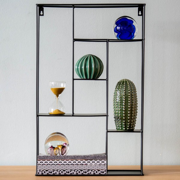 Briefbeschwerer - Kugel, Glas, dunkelblau