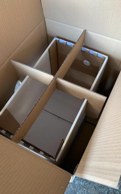 EXKLUSIV für Hektar Nektar Verkäufer: 10 Stück Versandkartons für Ableger