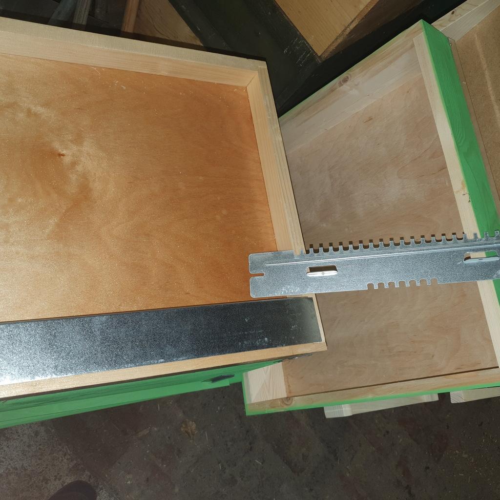 Bienenbeuten Neu ohne Bienen Deutsch Normal, Zander,Dadant Blatt Neu 2.5cm Holz