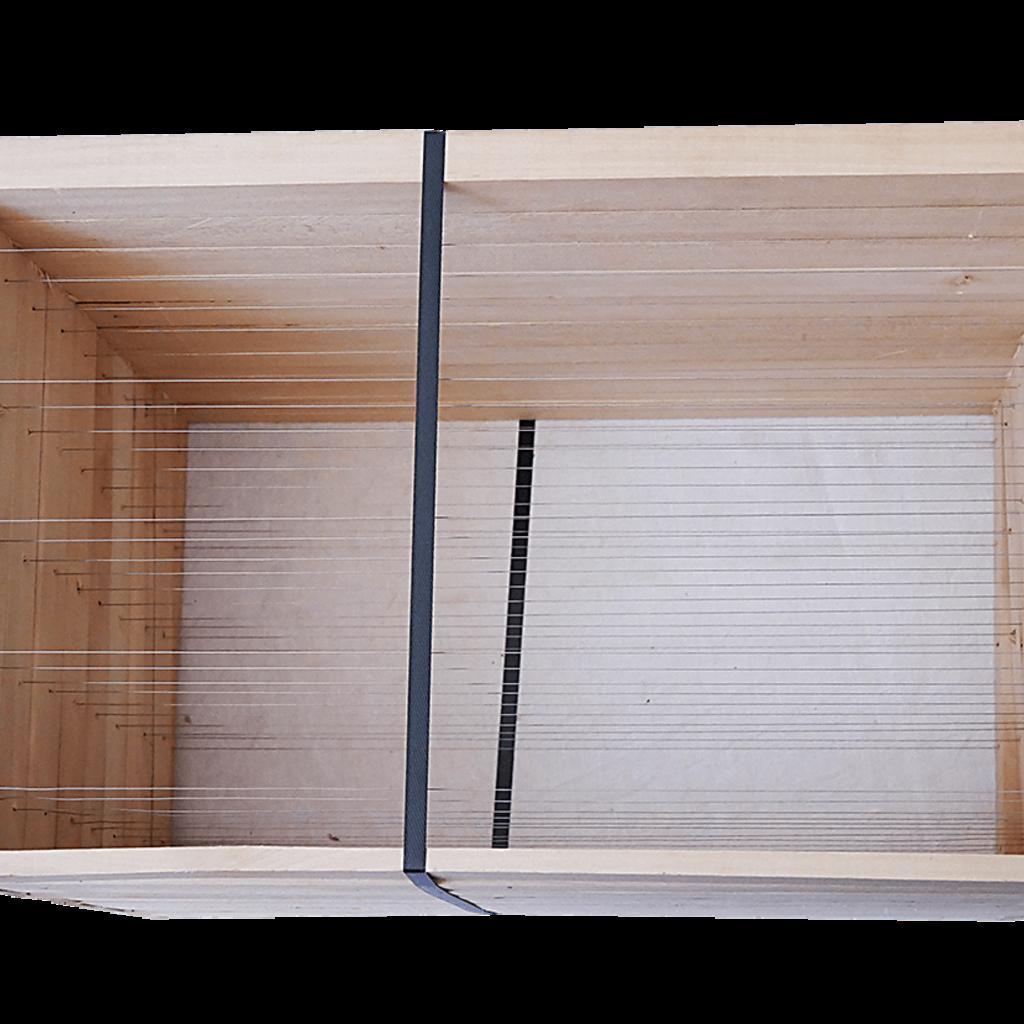 10 Rähmchen - Zander Jumbo, gerade Seiten. 457x420x326mm. Nr: 1029