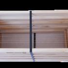 10 Rähmchen - Langstroth Flachzarge, Hoffmann-Seiten. 482x448x159mm. Nr: 1028