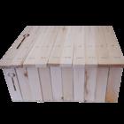 40 Rähmchen - Dadant Blatt, Honigraum, gerade Seiten. 470x435x159mm. Nr: 1023