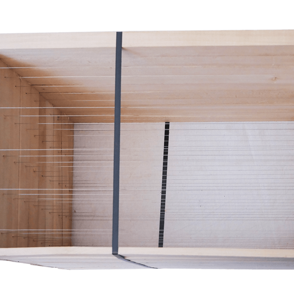 10 Rähmchen - Dadant Blatt, Brutraum, gerade Seiten. 470x435x300mm. Nr: 1021
