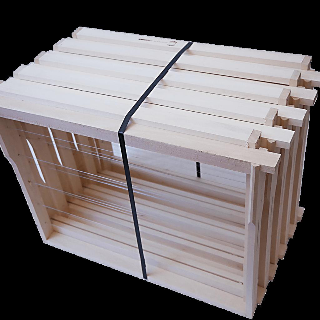 40 Rähmchen - Einheitsmaß Jumbo, Hoffmann-Seiten. 420x370x326mm. Nr: 1020