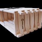 40 Rähmchen - Einheitsmaß Flachzarge, Hoffmann-Seiten. 400x370x159mm. Nr: 1014