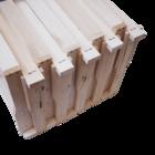 10 Rähmchen - Einheitsmaß Vollzarge, Hoffmann Seiten. 400x370x223mm. Nr: 1010