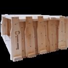 10 Rähmchen - Zander Flachzarge, Hoffmann-Seiten. 477x420x159mm. Nr: 1008