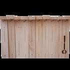 10 Rähmchen - Zander Flachzarge, gerade Seiten. 477x420x159mm. Nr: 1007