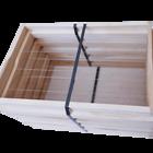 10 Rähmchen - Zander Vollzarge, Hoffmann Seiten. 477x420x220mm. Nr: 1004