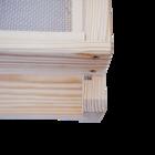 Einheitsmaß Quadratisch-Beute 435x435mm, inkl. 30 Hoffmann-Rähmchen