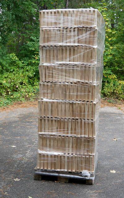1 Palette (950Stk.) RähmchenLangstroth Flachzarge, ger. Seiten: € 0,86 / Stk.