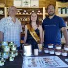 6 Waben Bienenvolk Zander Carnica (mit Königin)