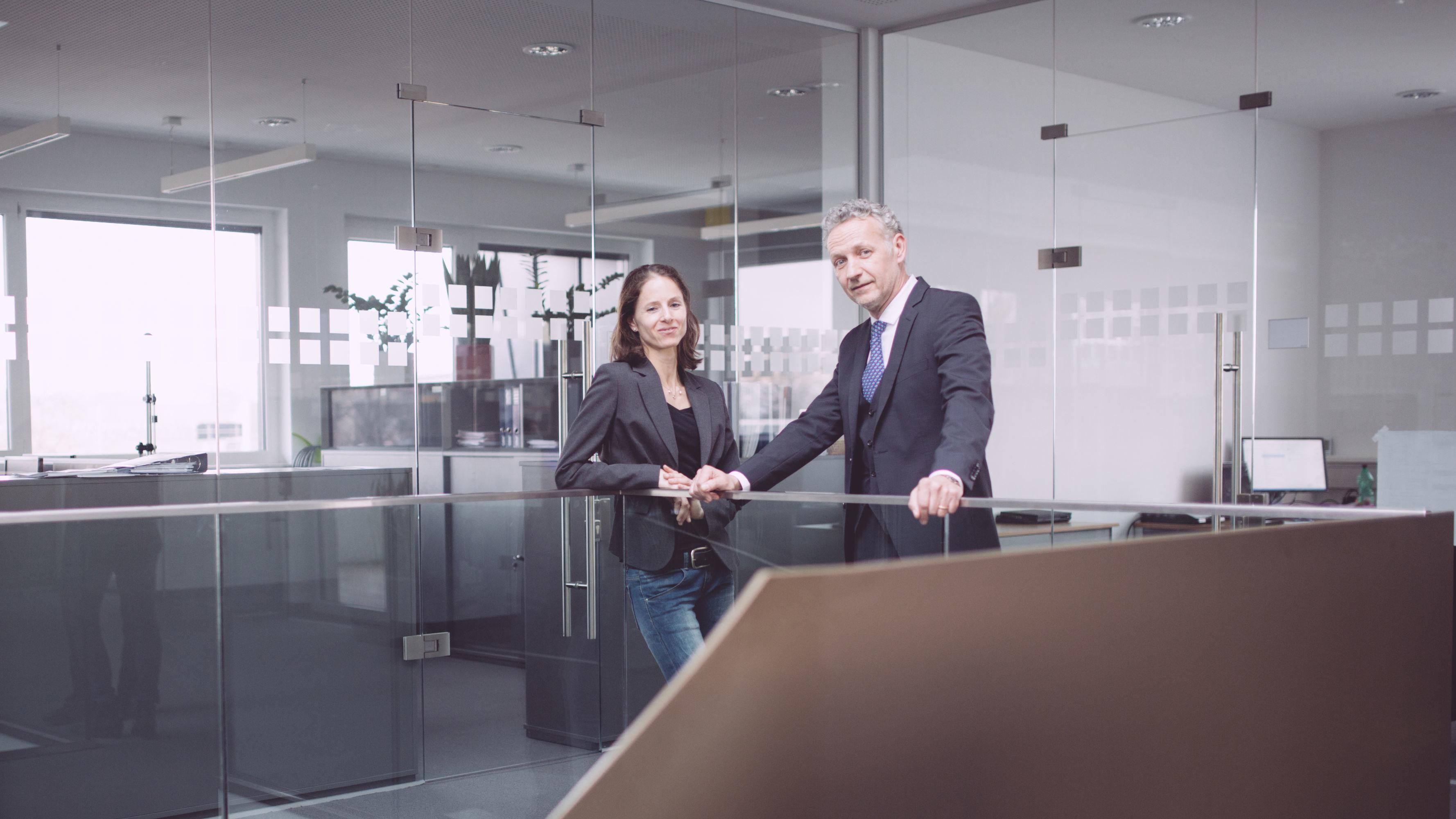Mag. Nina Pildner-Steinburg und Dipl. Tech. Wolfgang Senner