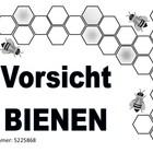 Bienenwarnschild 2019