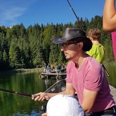 Ich beim angeln