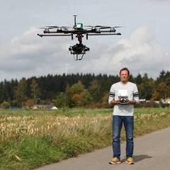 Drohnenflug in der eifel