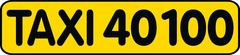 CC Taxicenter GmbH - Taxi 40100