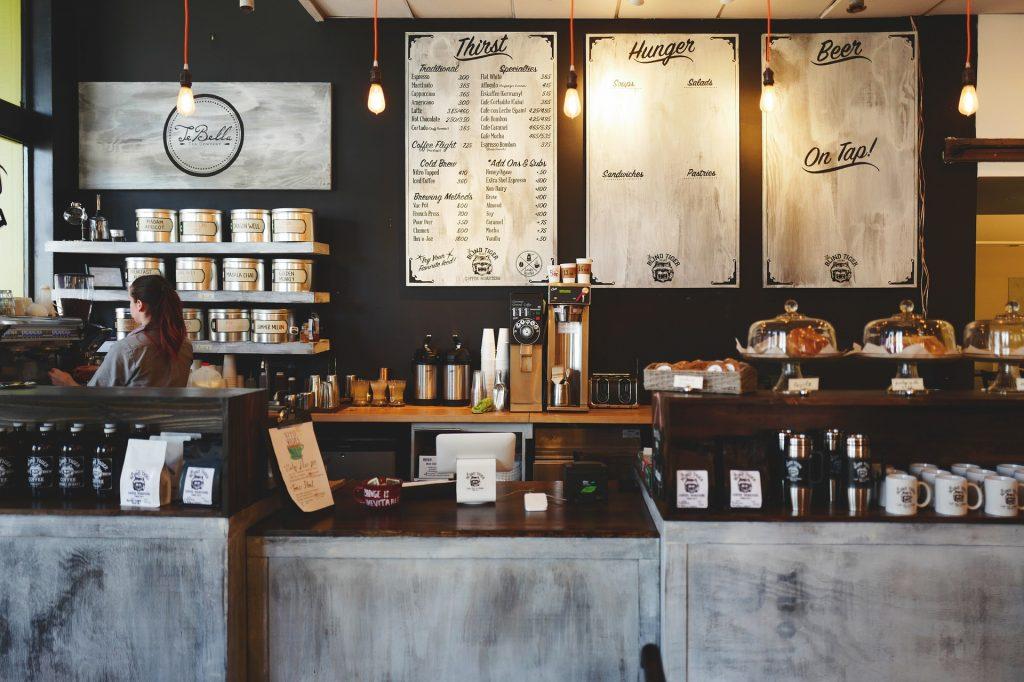comercio cafetería TPV