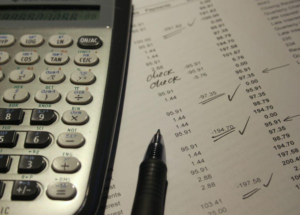 finanzas programa de caja registradora: facturas pendientes de pago