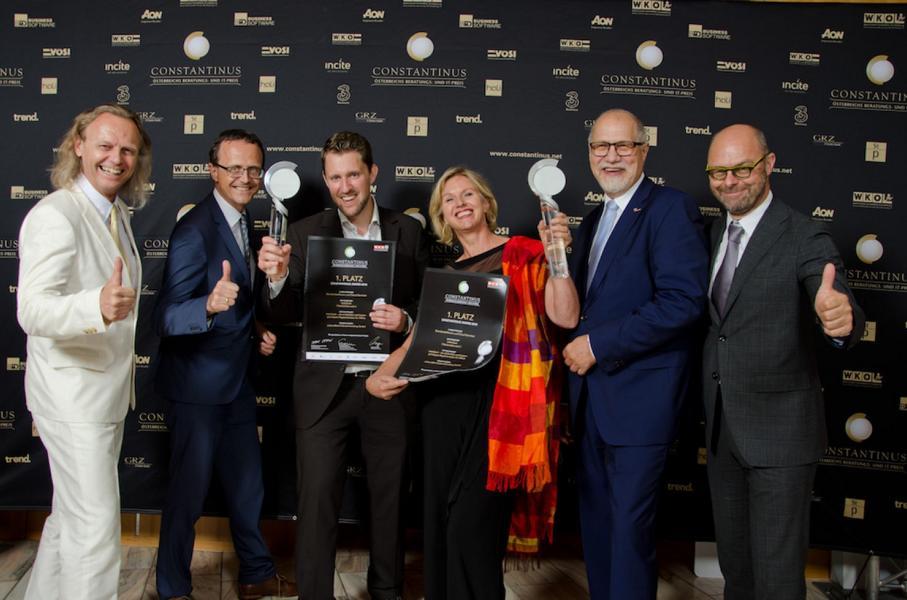 Gruppenfoto Constantinus Award