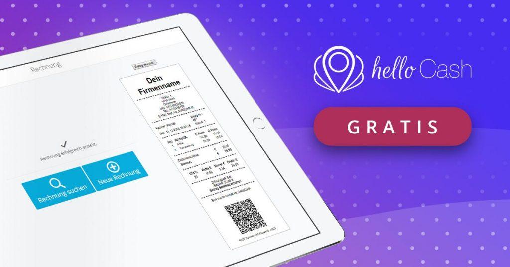 Tablet, Kassa, Beleg, QR-Code, Kassasystem, Registrierkassa, Signatur