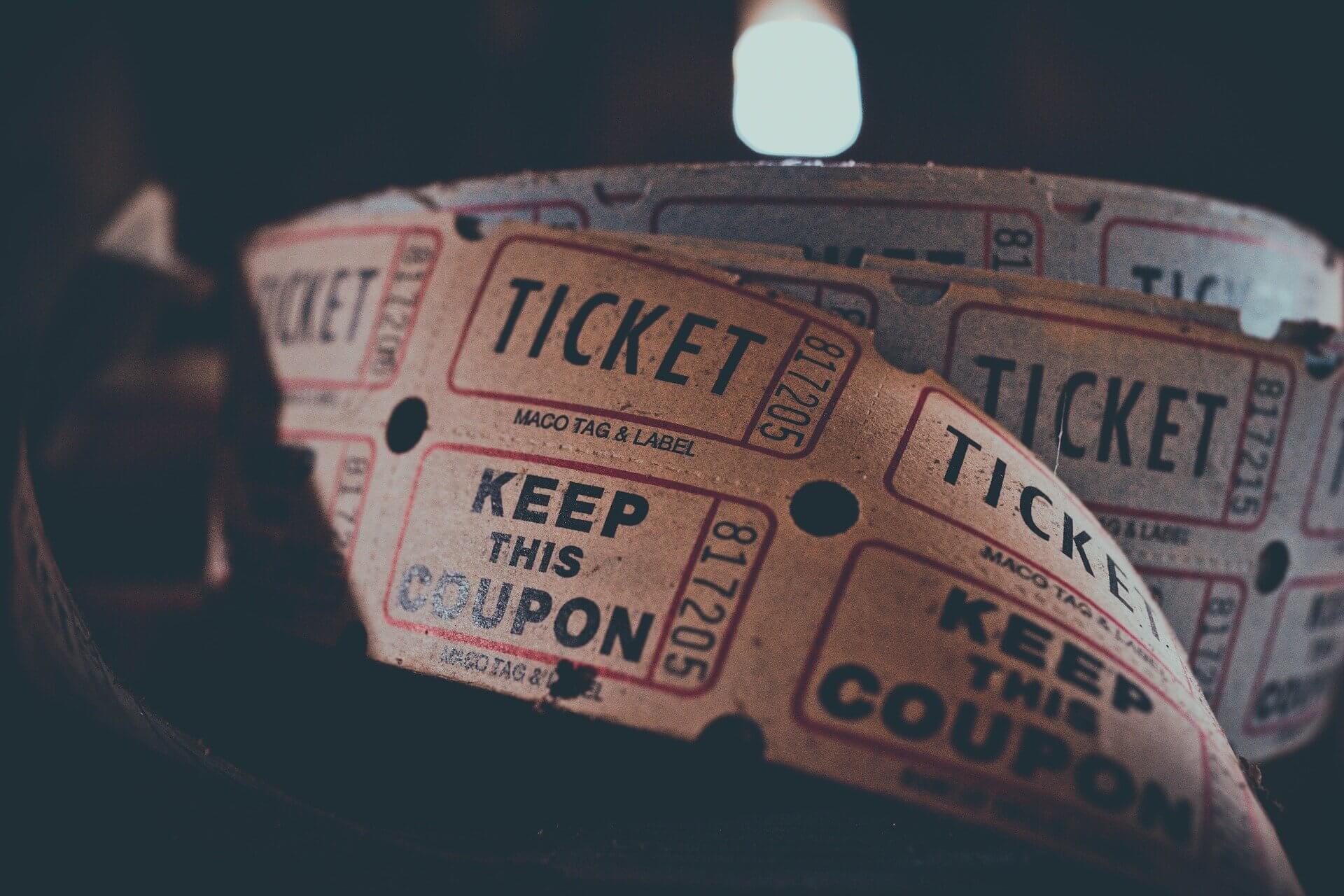 Gutschein-Ticket