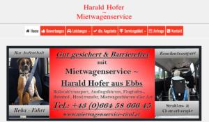 Harald-Hofer-Mietwagenservice