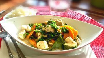 Puten-Gemüse-Gulasch