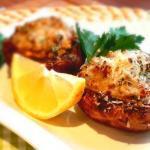 Gefüllte-Pilze-mit-Hackfleisch