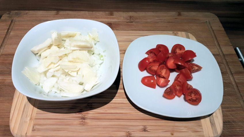 Gemüse-schneiden