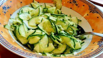 Schneller-Gurkensalat