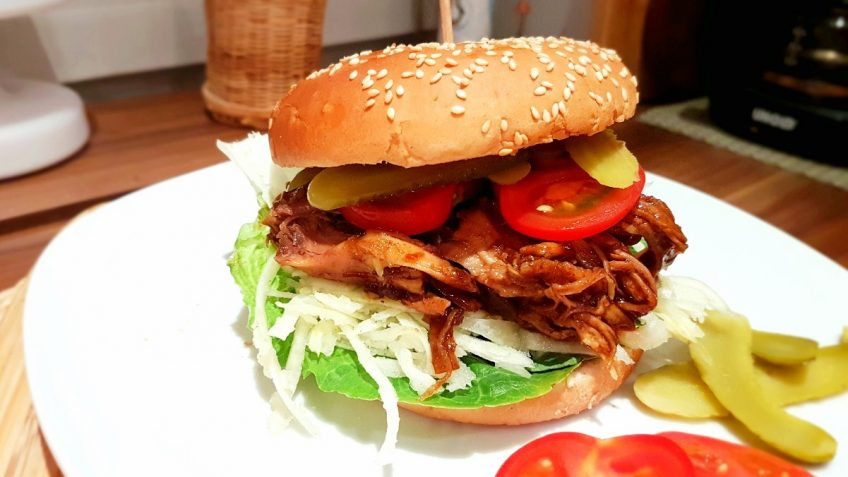 Pulled-Pork-Burger