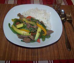 Rindfleisch Gemüse Pfanne