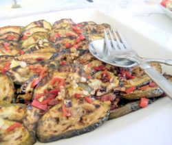 Zucchini in würziger Balsamico-Marinade
