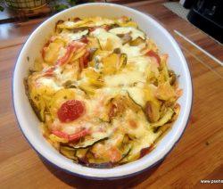Zucchini-Kartoffel Gartin