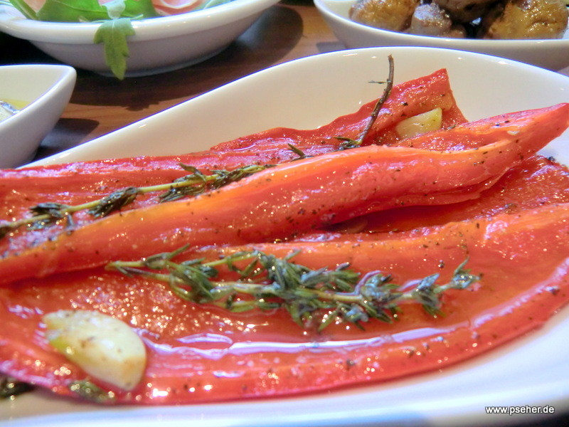 Antipasti - gebratene Paprika